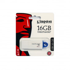 USB Flash накопитель 16Gb Kingston DataTraveler G4 White/Red (DTIG4/16GB)