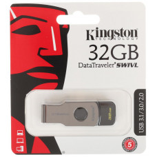 USB Flash накопитель 32Gb Kingston DataTraveler Swivl Black (DTSWIVL/32GB)