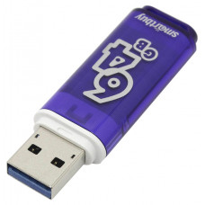 USB Flash накопитель SmartBuy Glossy Series Dark Blue 64Gb