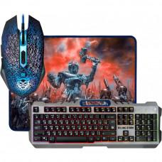 Клавиатура + мышь + коврик Defender Killing Storm MKP-013L