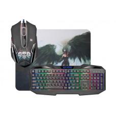 Клавиатура + мышь + коврик Defender Reaper MKP-018RU