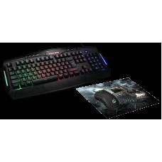 Клавиатура + мышь + коврик Jet.A Penteon GS270P