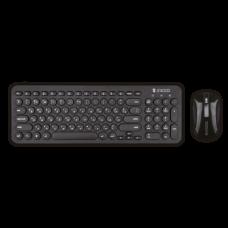Клавиатура + мышь Jet.A Slim Line KM30 W