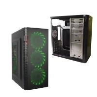 Корпус DeTech C3131S USB 2.0 Green