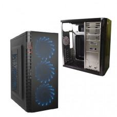 Корпус DeTech C3131S USB 2.0 Blue