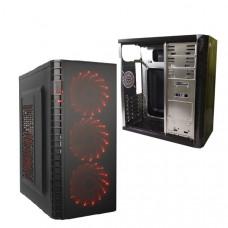 Корпус DeTech C3131S USB 3.0 Red