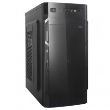 Корпус ATX DeTech C3135S, Midi-Tower, Black