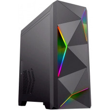 Корпус ATX Gamemax Ares Black, Midi-Tower, без БП