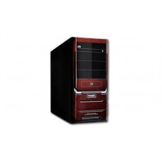 Корпус ATX Kinghun 5A26DR, Midi-Tower, без БП, Black