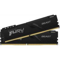 Оперативная память Kingston HyperX Fury Beast 16Gb (2x8Gb) DDR4 3200MHz (KF432C16BBK2/16)