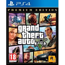 Игра Grand Theft Auto V Premium Edition (PS4)