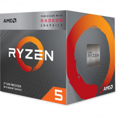 Процессор AMD Ryzen 5 3400G BOX [YD3400C5FHBOX]