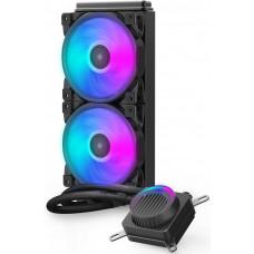 Система водяного охлаждения PCCooler GI-AH240U HALO RGB