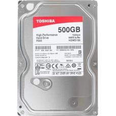 """Жесткий диск Toshiba P300 500Gb HDWD105UZSVA HDD SATA III 3.5"""""""